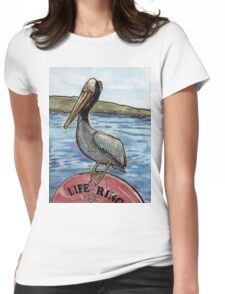San Francisco Pelican Womens Fitted T-Shirt