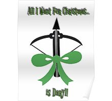 All I Want..... Is Daryl!!!! Poster