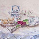 Vintage Tea by Patsy L Smiles