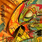 Rhino Grazing by Joshua Bell