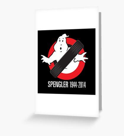 RIP Spengler Greeting Card