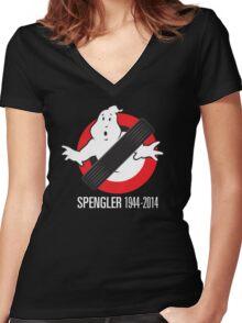 RIP Spengler Women's Fitted V-Neck T-Shirt