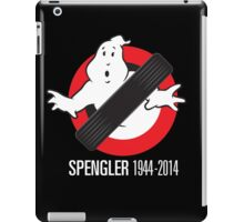 RIP Spengler iPad Case/Skin