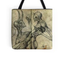 I'll burn in hell for you, my love Tote Bag