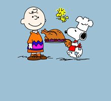Charlie and Snoopy Thanksgiving Unisex T-Shirt