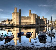 Caernarfon Castle by Roddy Atkinson