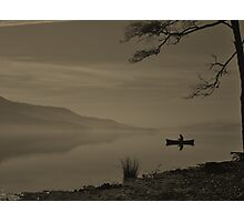 Lonely Coniston Water Cumbria Photographic Print