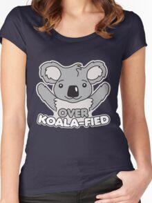 Over Koala-Fied Women's Fitted Scoop T-Shirt