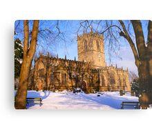 Ecclesfield Church Metal Print