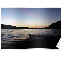 Lake St Clair sunset Poster