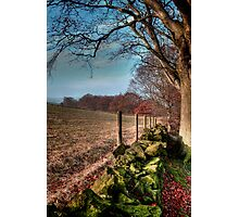 Chevin Dry Stone Wall #2  Photographic Print