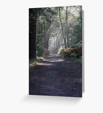 The Footpath Greeting Card
