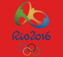 Olympics in Rio 2016 Best Logo One Piece - Short Sleeve