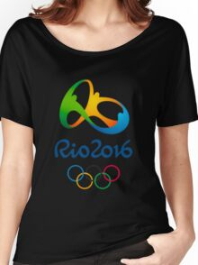 Olympics in Rio 2016 Best Logo Women's Relaxed Fit T-Shirt