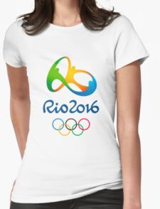 Olympics in Rio 2016 Best Logo Womens Fitted T-Shirt