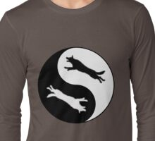 K9 YinYang Long Sleeve T-Shirt