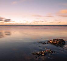 sunset in the sand by JorunnSjofn Gudlaugsdottir