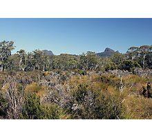 Trekking Tasmania Photographic Print