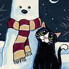 Snow Cat by Lisa Marie Robinson
