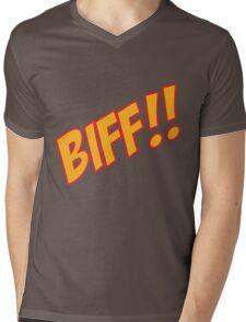 biff Mens V-Neck T-Shirt
