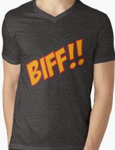 biff Mens V-Neck T-Shirt