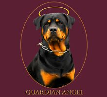 Guardian Angel - Rottweiler Womens Fitted T-Shirt