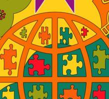 Fibromyalgia Awareness is crucial Sticker