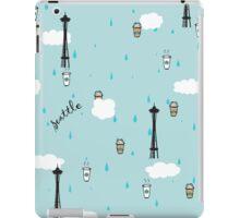 Seattle & Coffee (ipad) iPad Case/Skin