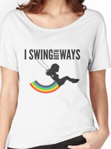 I Swing Both Ways Women's Relaxed Fit T-Shirt