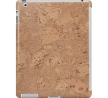 Cork flooring iPad Case/Skin