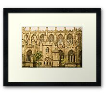 Windows of Exeter Cathedral Framed Print