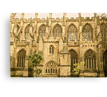 Windows of Exeter Cathedral Canvas Print
