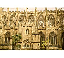 Windows of Exeter Cathedral Photographic Print