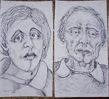 napkin drawings by madvlad