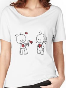 VooDude - Roses Are Red Women's Relaxed Fit T-Shirt