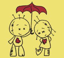 VooDude - I Love The Rain Kids Tee