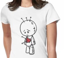 VooDude - Love Hurts Womens Fitted T-Shirt