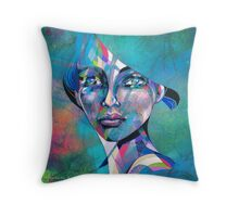 'Angela' Throw Pillow