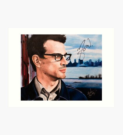 Matthew Good- Vancouver Art Print