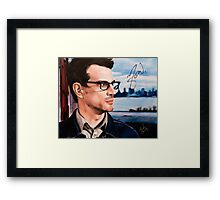 Matthew Good- Vancouver Framed Print