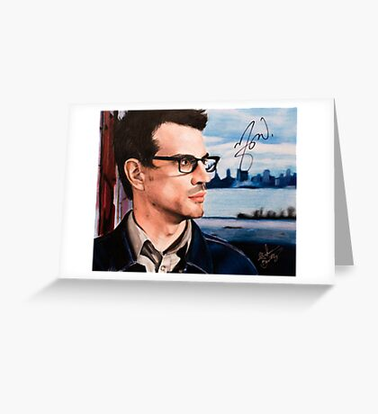 Matthew Good- Vancouver Greeting Card