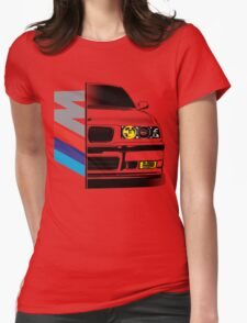 BMW E36 ///M  Womens Fitted T-Shirt