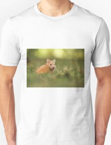 golden hamster pets on lawn Unisex T-Shirt