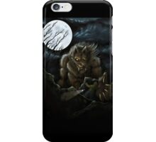 Big Ol' Wolf iPhone Case/Skin