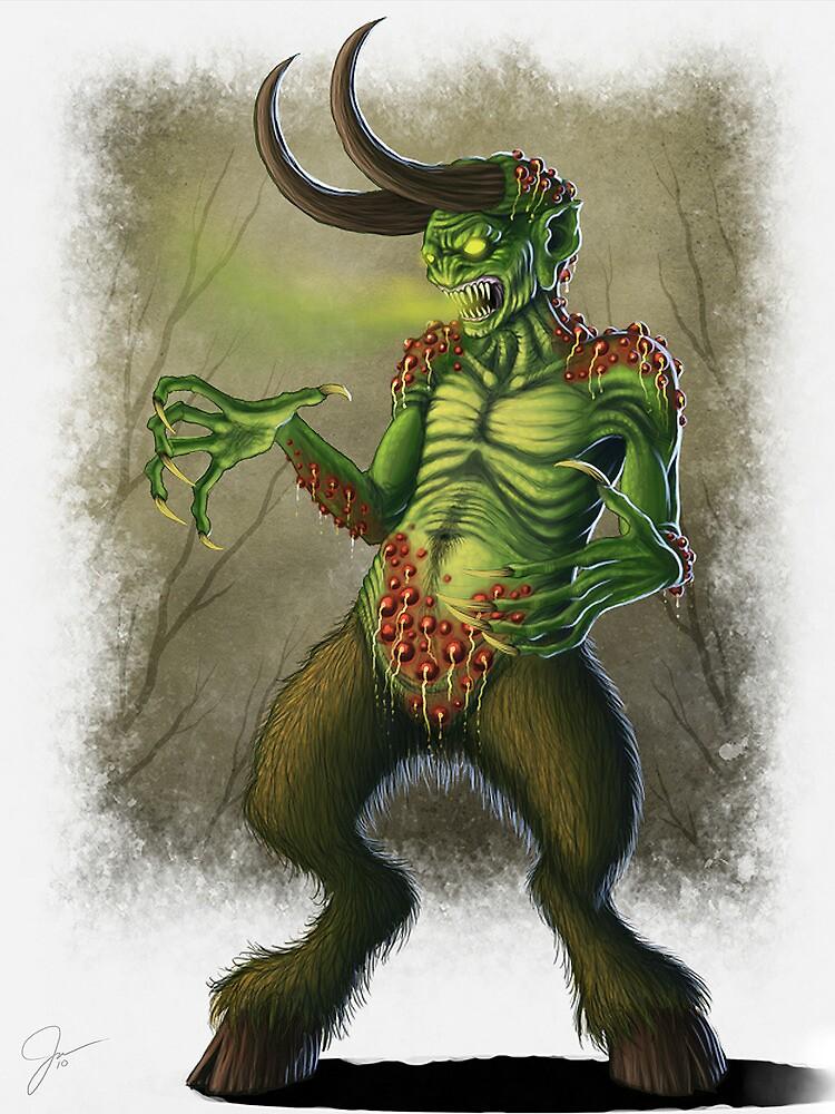 Bog Imp by evolvingeye