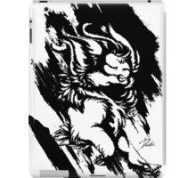 Run Wild (Black/White) iPad Case/Skin