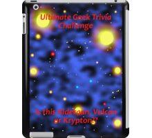 Ultimate Geek Trivia Challenge iPad Case/Skin