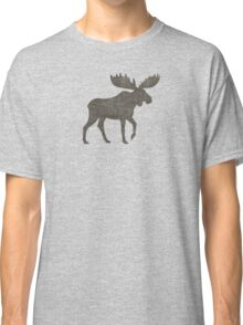 Moose Silhouette(s) Classic T-Shirt