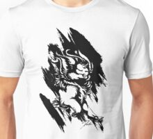 Run Wild (Black/White) Unisex T-Shirt
