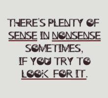 Sense and Nonsense by AlaJonea